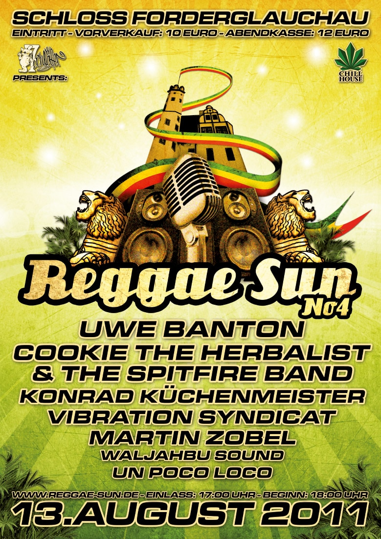Reggae Sun 2011 + A1 + A2light + A3
