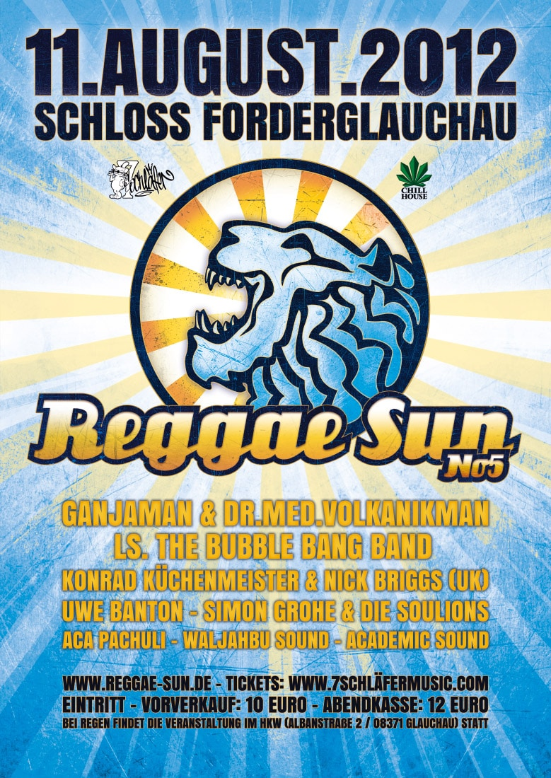 Reggae Sun 2012 - A1 + A2light + A3