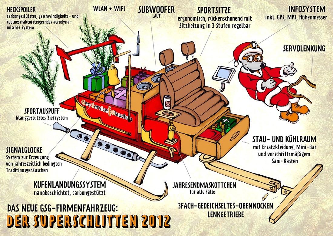 Weihnachtskarrikatur 2014