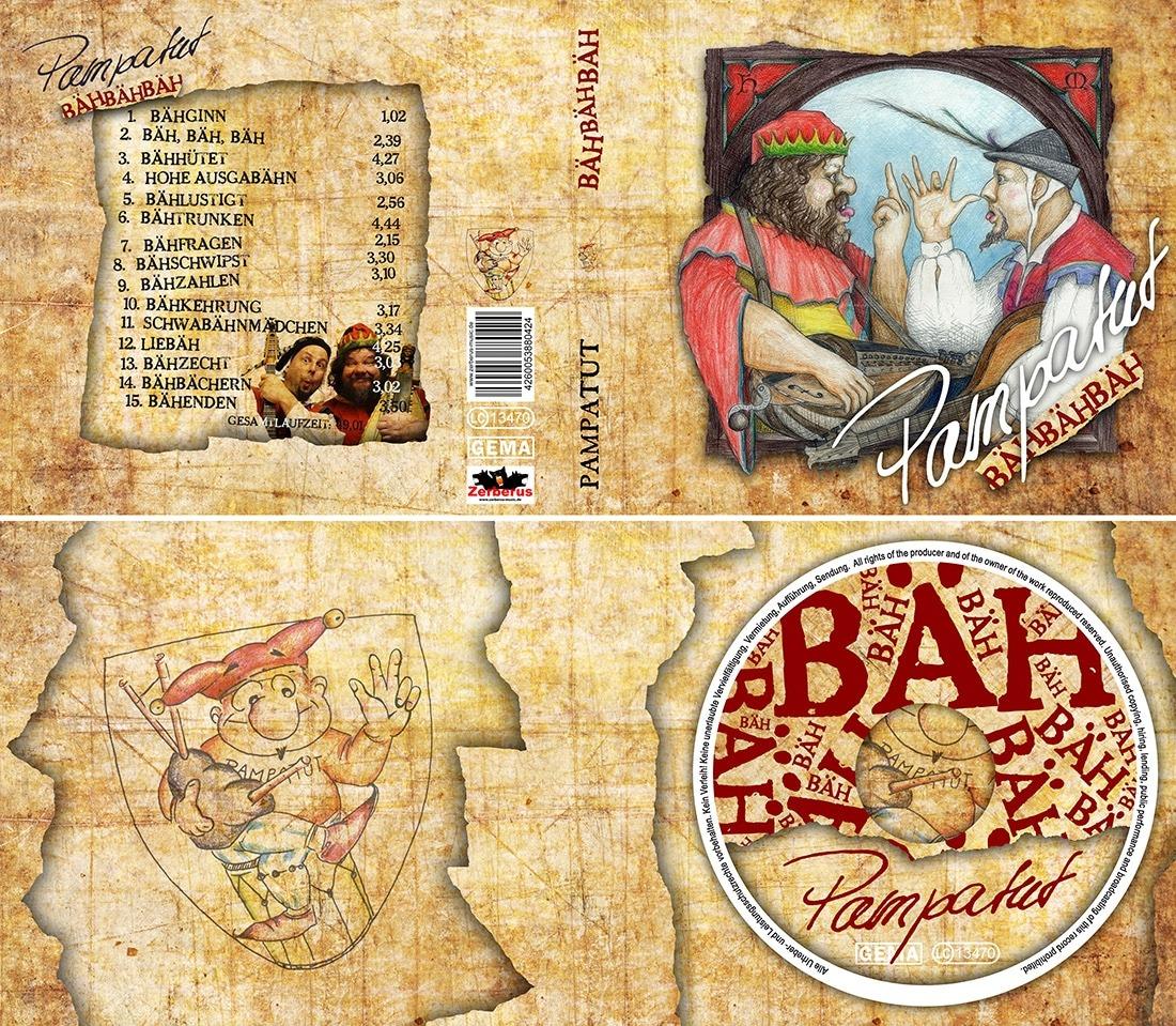 Cover Aussen- und Innenseite + CD