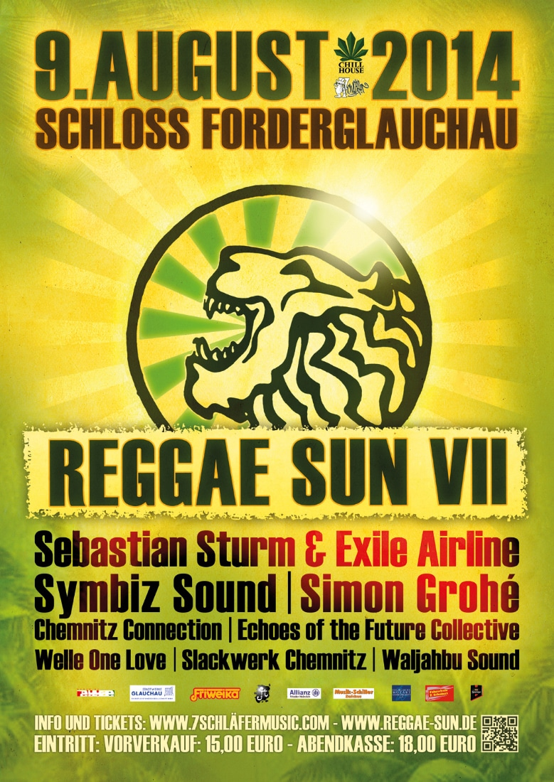 Reggae Sun 2014 - A1 + A2light + A3